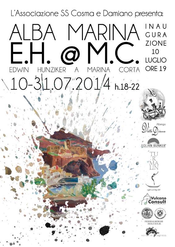 """Ultime Notizie: """"ALBA MARINA - E.H.@M.C."""" - Edwin Hunziker in mostra dal 10 al 31/07"""