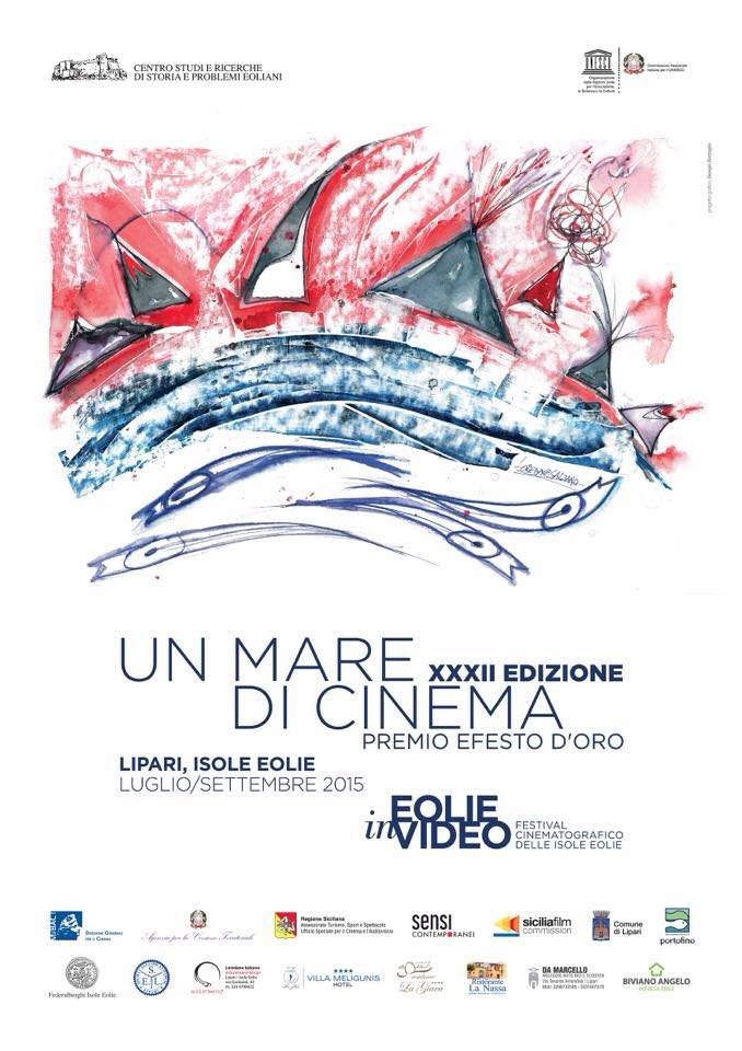 "Trentaduesima edizione di ""Un mare di cinema- Eolie in video"""