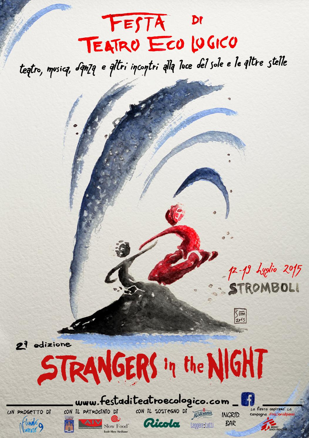 "Stromboli:""Strangers in the night"", la festa del teatro EcoLogico"